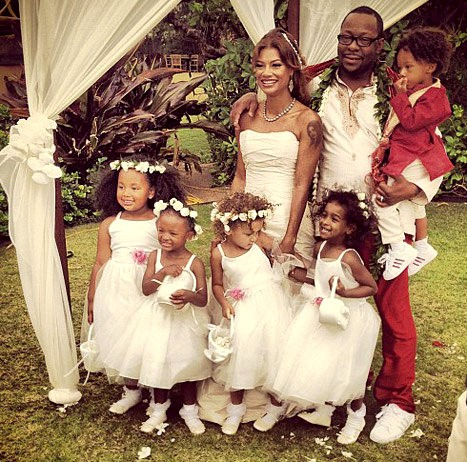 Picture: Bobby Brown and Alicia Etheridge Get Married in Hawaii