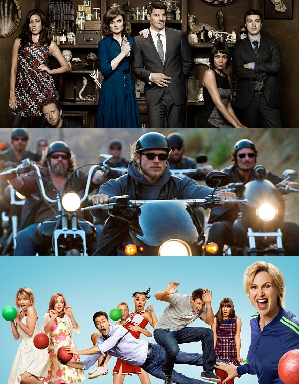 'Bones', 'Sons of Anarchy' and More Coming to Comic-Con 2012, 'Glee' Absent