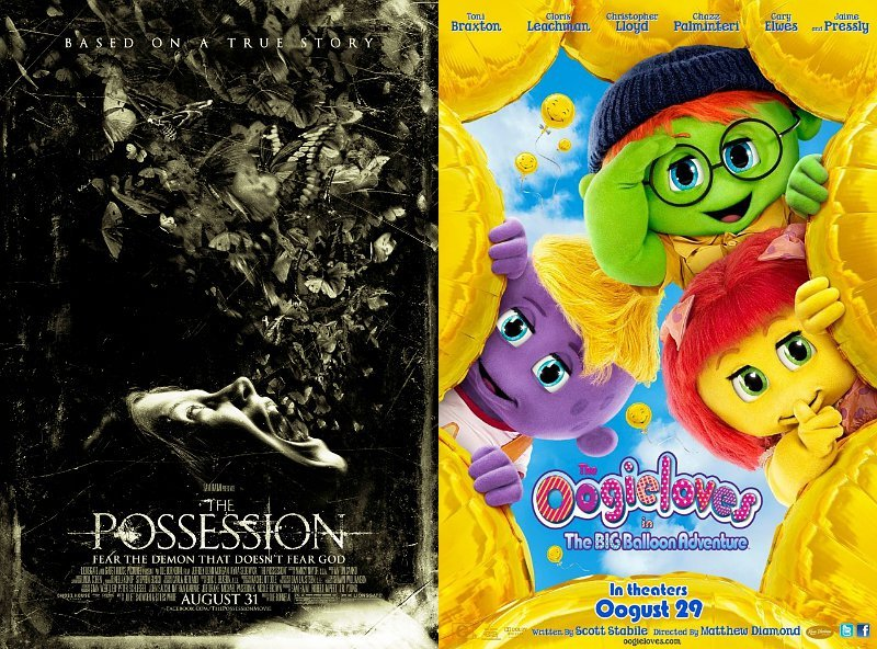 Box Office: 'The Possession' Debuts as Champion, 'Oogieloves' Scores Worst Opening Ever