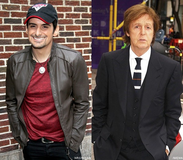Brad Paisley Calls Paul McCartney's 'Kisses on the Bottom' Worst Album Title of the Year