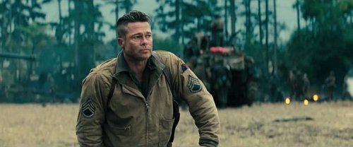 Brad Pitt Channels His Inner Wardaddy in 'Fury' First Footage