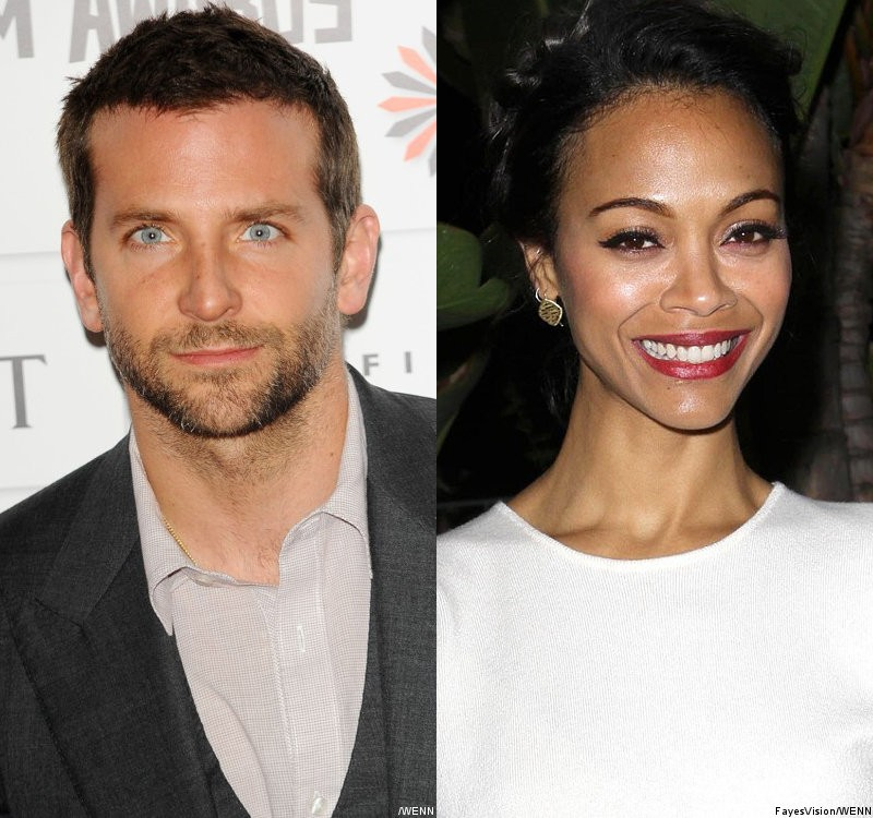 Report: Bradley Cooper and Zoe Saldana Telling Friends They're Dating