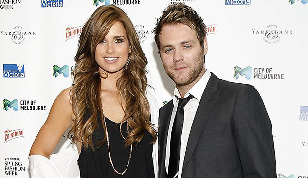 Brian McFadden Confirms Engagement to Vogue Williams
