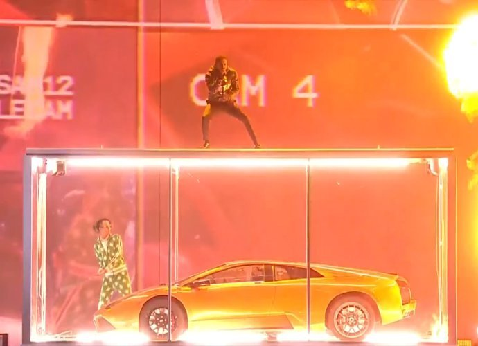 BRIT Awards 2018: Kendrick Lamar and Rich the Kid Suffer Technical Issues, Smash Lamborghini