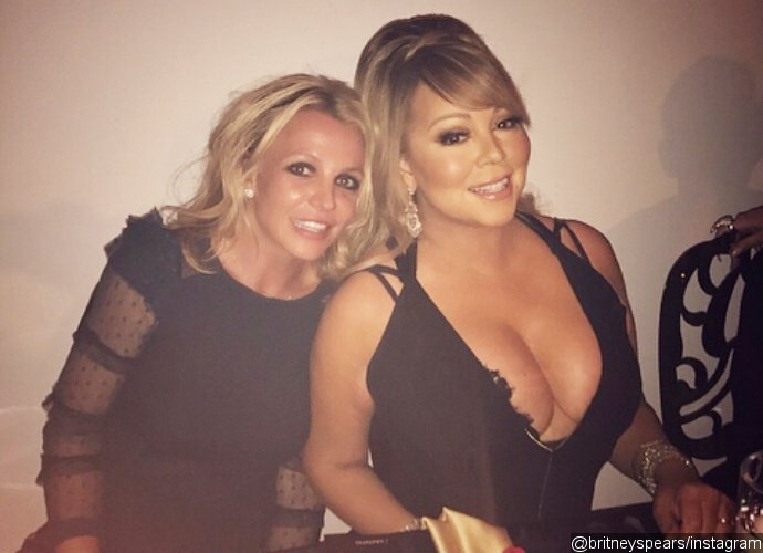 Pop Queens Britney Spears and Mariah Carey Hang Out Together, Fans Freak Out