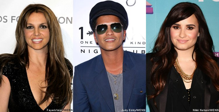 Britney Spears, Bruno Mars and Demi Lovato Lined Up for 2013 Wango Tango Concert
