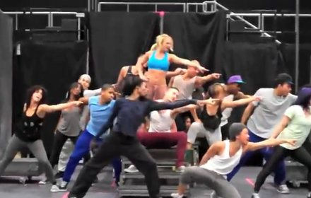 Britney Spears' 'Femme Fatale' Tour Rehearsal Footage Surfaces