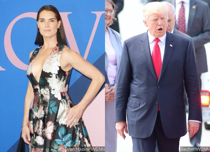 Brooke Shields Reveals Donald Trump's Awful Pick-Up Line