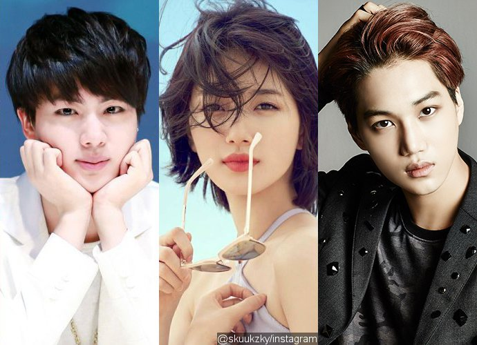 BTS' Jin, Suzy, EXO's Kai and More Are Nominated for Most Beautiful and Handsome Faces of 2017