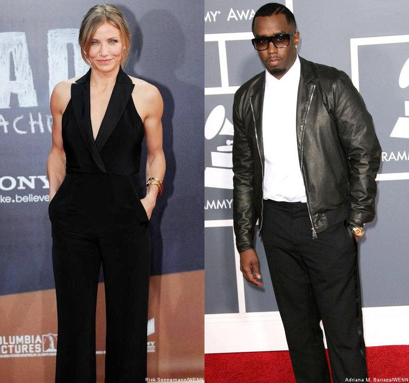 Report: Cameron Diaz Makes Out With P. Diddy at New York City Nightclub