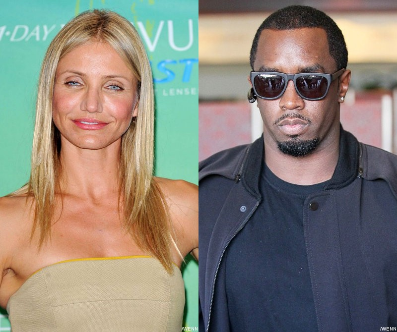 Report: Cameron Diaz Not Exclusively Dating P. Diddy