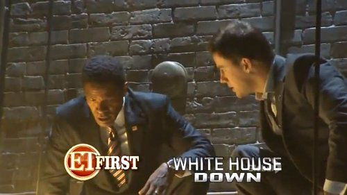First Footage of Channing Tatum and Jamie Foxx in 'White House Down'