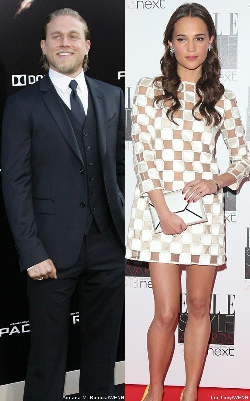 Charlie Hunnam Not Frontrunner for '50 Shades of Grey', Alicia Vikander in the Mix