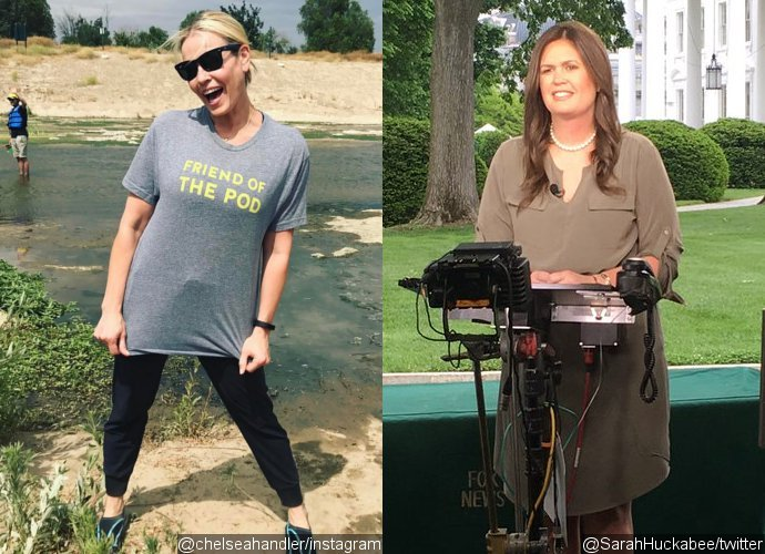 Chelsea Handler Comes Under Fire for Mocking Sarah Huckabee Sanders' Appearance