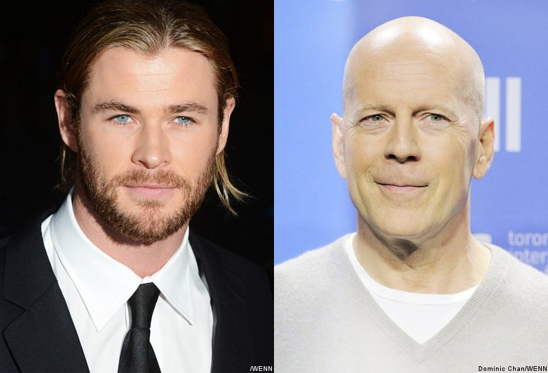 Chris Hemsworth May Star Opposite Bruce Willis in 'American Assassin'