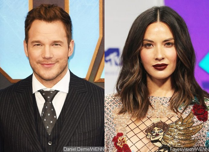 Report: Chris Pratt Is Secretly Dating Olivia Munn
