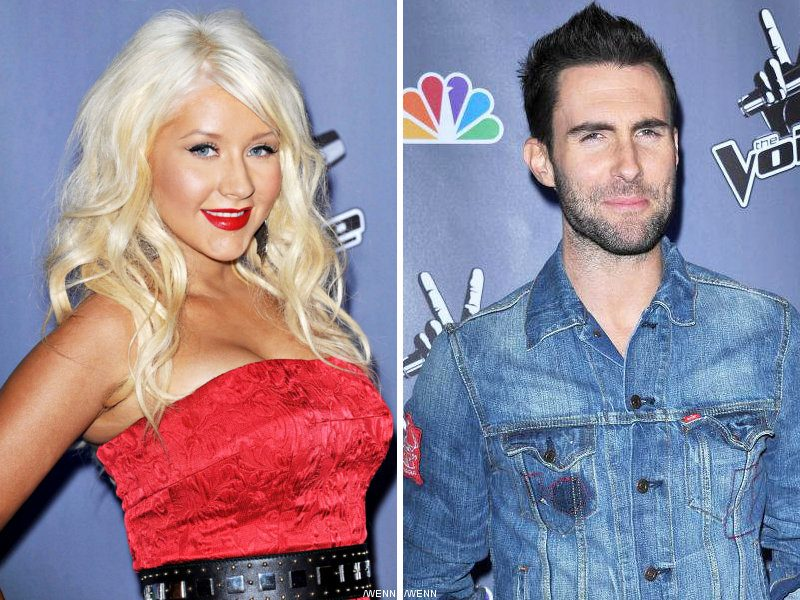 Christina Aguilera and Adam Levine Record a Duet