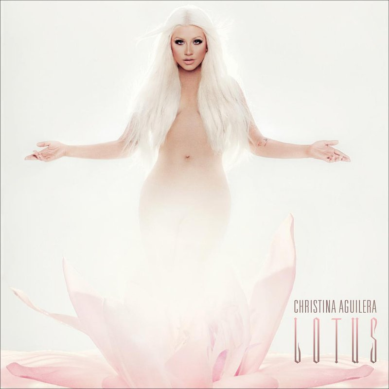 Christina Aguilera Gets Naked in 'Lotus' Album Cover