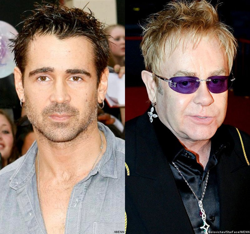 Colin Farrell, Elton John Pay Tribute to Elizabeth Taylor at Private Memorial Service