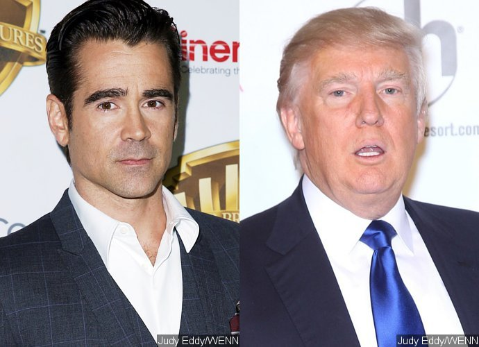 Here's How Colin Farrell Explains Trump's P***y Grabbing Comment to His 7-Year-Old Son