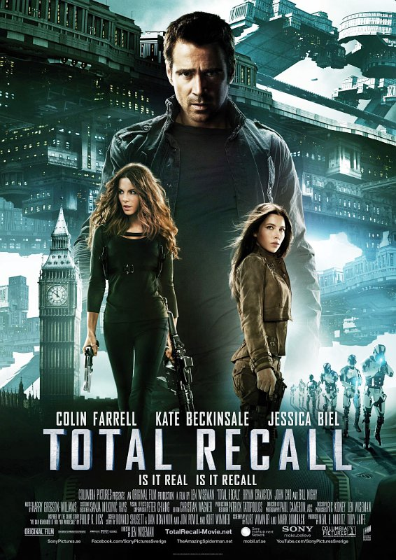 Colin Farrell's Mind Trip Goes Awry in First 'Total Recall' Clip