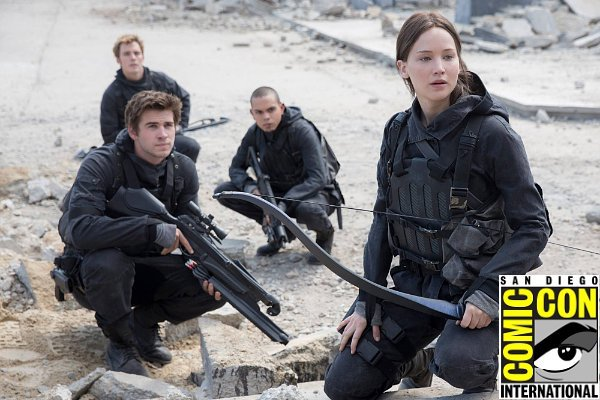 Comic-Con Thursday Movie Schedule: 'Mockingjay, Part 2' Debuts New Footage