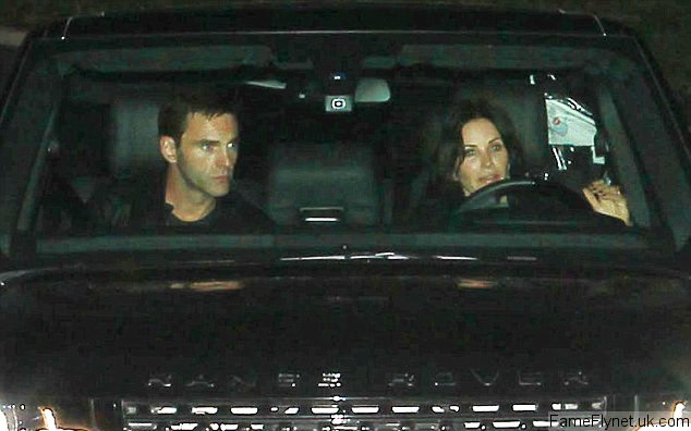 Courteney Cox Brings Alleged New Beau Johnny McDaid to Jennifer Aniston's Holiday Bash