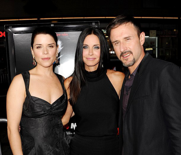 Courteney Cox and David Arquette Civil at 'Scream 4' Premiere