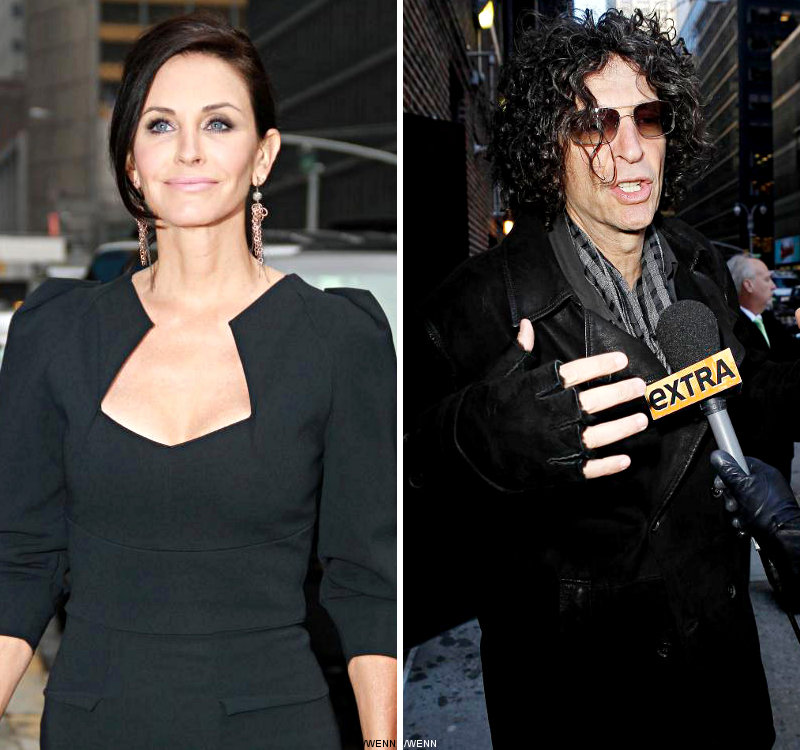 Courteney Cox Regrets Howard Stern Show Surprise