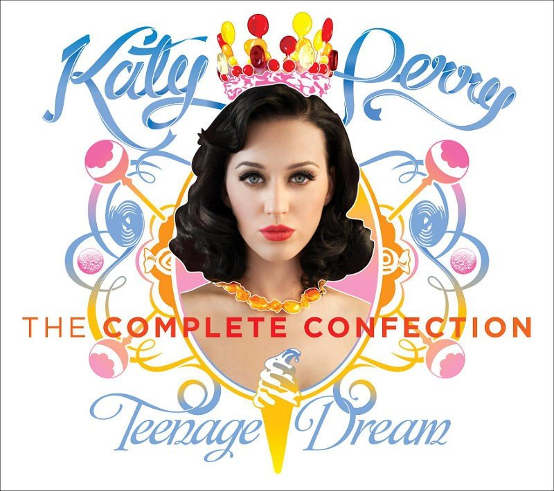 Cover Art of Katy Perry's 'Teenage Dream: The Complete Confection'