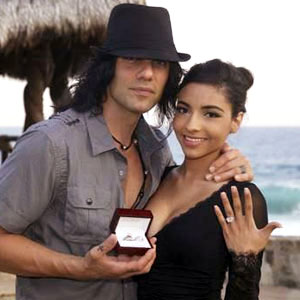 Criss Angel Gets Engaged After Proposing With 5-Carat Diamond Ring