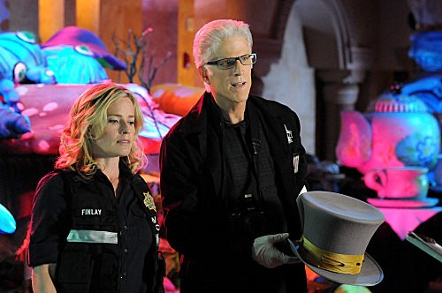 'CSI' 12.18 Preview: 'Alice in Wonderland' and a Surprise Visit