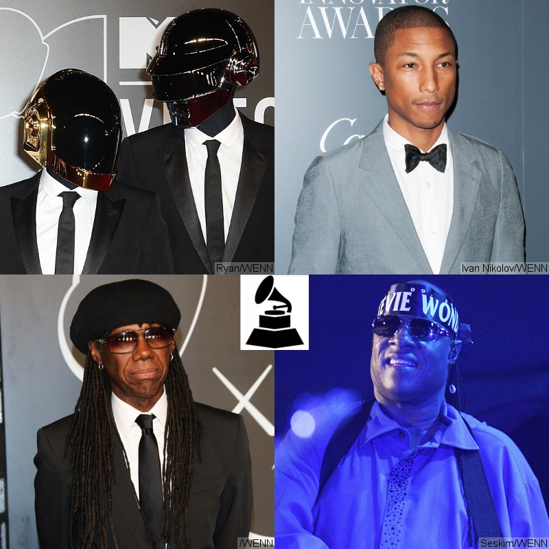 Daft Punk to Perform With Pharrell, Nile Rodgers and Stevie Wonder at 2014 Grammys
