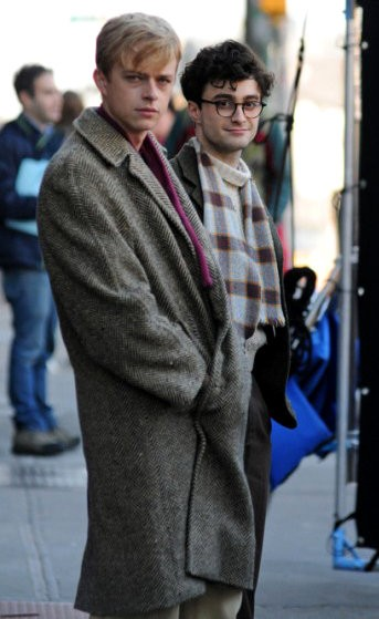 First Look at Daniel Radcliffe as Gay Poet Allen Ginsberg on 'Kill Your Darlings' Set