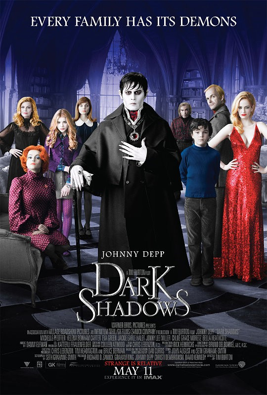 First 'Dark Shadows' Trailer Is Jam-Packed With Johnny Depp's Antics and Witty Humors