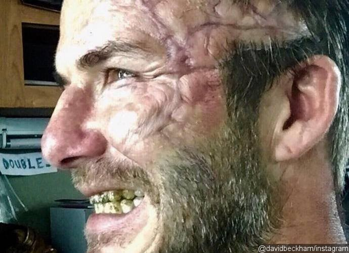 See David Beckham's Face Ruined for 'King Arthur' Movie!