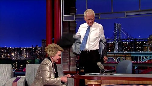 Video: David Letterman Walks Out on Interview With Joan Rivers