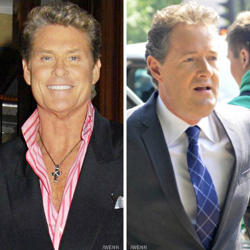 David Hasselhoff Confronts Piers Morgan in TV Interview