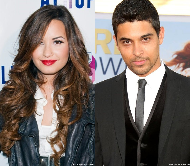 Demi Lovato Allegedly Stealing Kisses From Wilmer Valderrama at Party