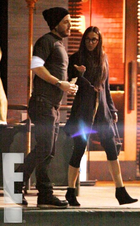 Demi Moore Spotted Having Dinner Date With Her New Man