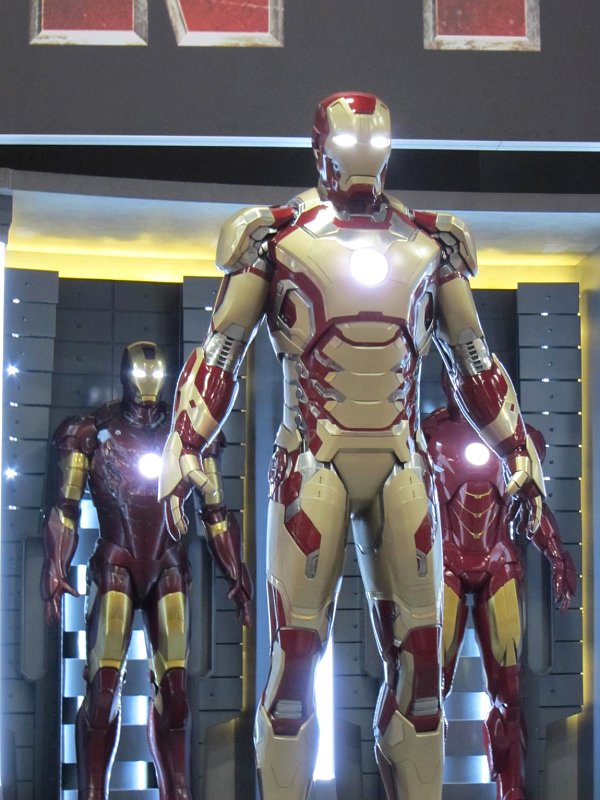 Possible Details of Tony Stark's Mark XLVII Suit in 'Iron Man 3' Revealed