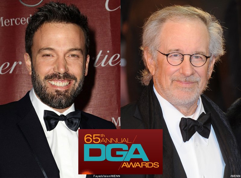 DGA Awards 2013 Nominations: Ben Affleck to Compete Against Steven Spielberg
