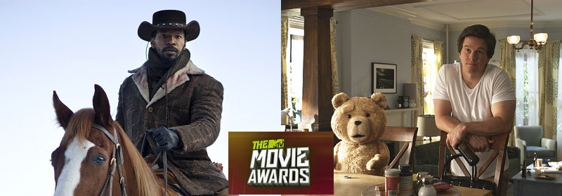 'Django Unchained' and 'Ted' Lead Nominations of 2013 MTV Movie Awards
