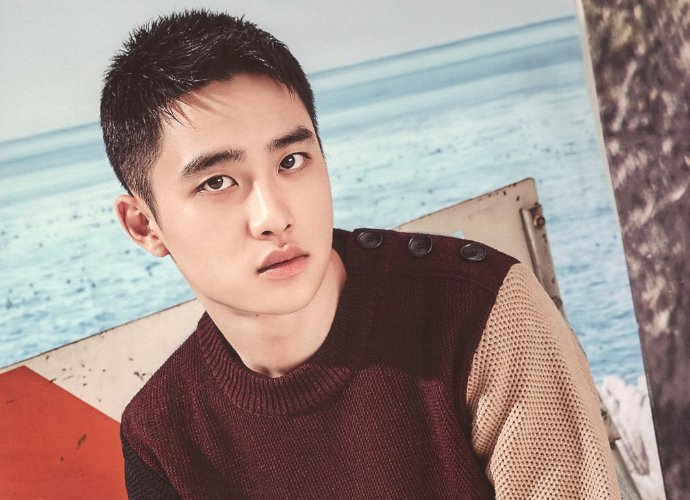 EXO's D.O. Shows Newly-Shaved Head for New Movie Role