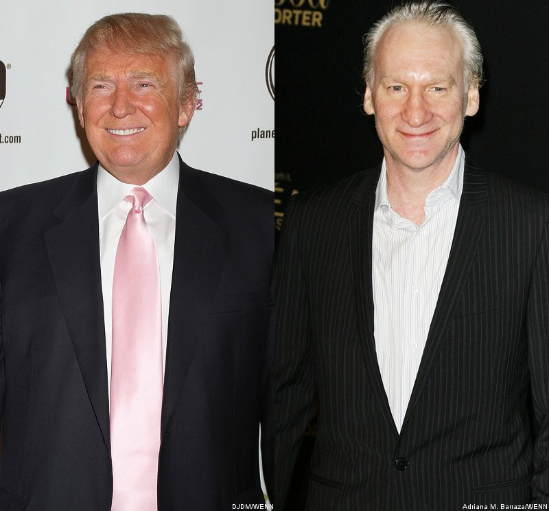 Donald Trump Sues Bill Maher for $5M Over Claim That He's Descended From Orangutan