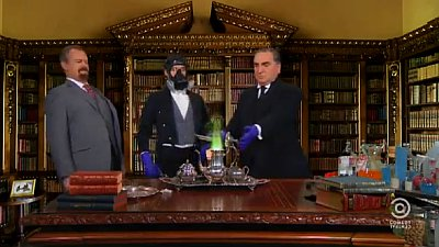 Video: 'Downton Abbey' Cast Does 'Breaking Bad' on 'The Colbert Report'