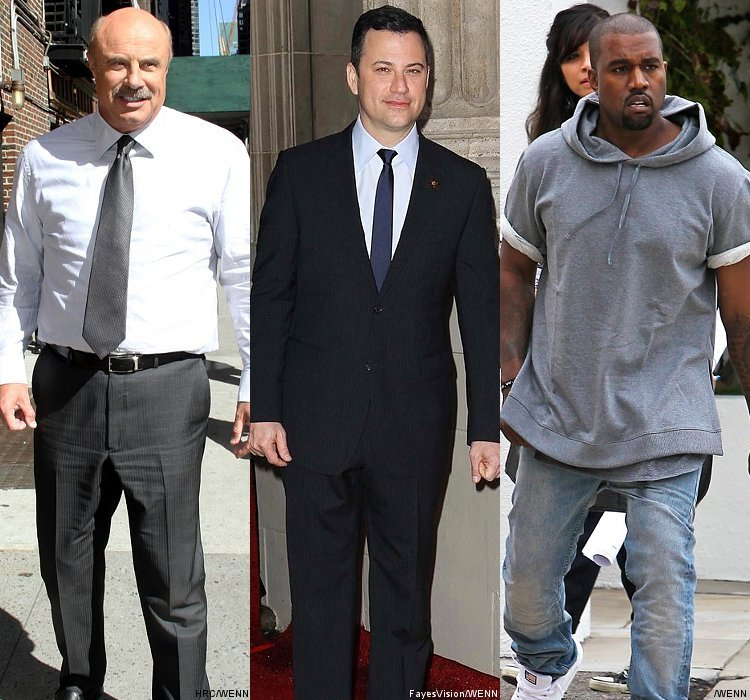 Dr. Phil Will Help Jimmy Kimmel and Kanye West Work Out Their Issues on TV Show