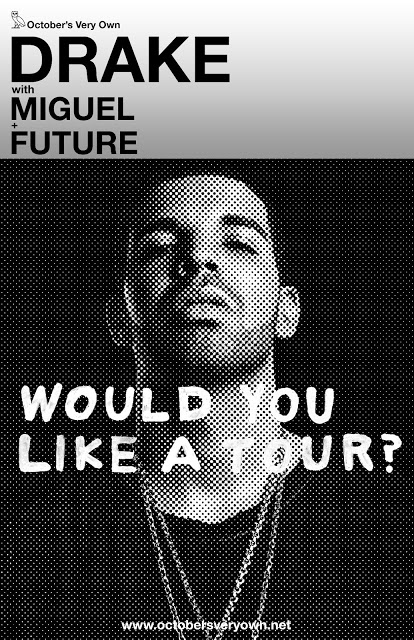 Drake Announces Tour With Miguel and Future
