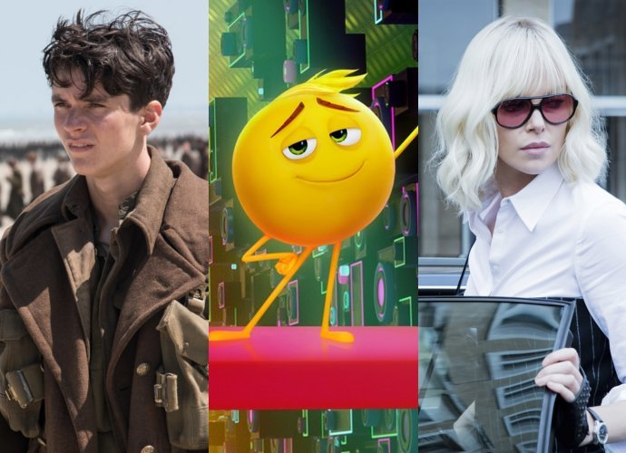 'Dunkirk' Defeats Newcomers 'Emoji Movie' and 'Atomic Blonde' at Box Office
