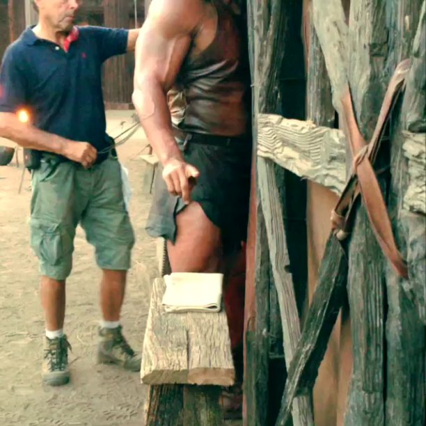 Dwayne Johnson Turned Into Beast in 'Hercules' Instagram Video